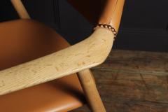 Mid Century Desk Chair in Oak by Erik Kirkegaard - 1991559