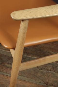 Mid Century Desk Chair in Oak by Erik Kirkegaard - 1991560