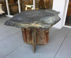 Mid Century French Sculptural Slate Table - 605843