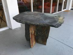 Mid Century French Sculptural Slate Table - 605845
