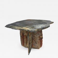 Mid Century French Sculptural Slate Table - 605982