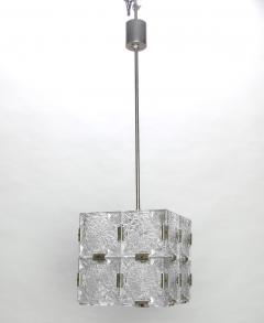 Mid Century Glass Cube Pendant Light in the Style of Kalmar - 188726  sc 1 st  Incollect & Mid-Century Glass Cube Pendant Light in the Style of Kalmar