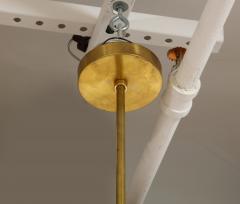 Mid Century Italian Black and Brass Sputnik Chandelier - 2057740