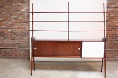 Mid Century Italian Modern Freestanding Wall Unit - 374290