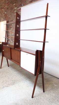 Mid Century Italian Modern Freestanding Wall Unit - 374295