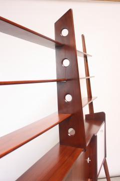 Mid Century Italian Modern Freestanding Wall Unit - 374310