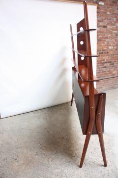 Mid Century Italian Modern Freestanding Wall Unit - 374312
