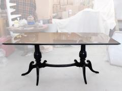 Mid Century Italian White Marble Top Dining Table 1950s - 940303