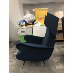 Mid Century Italian Wing Chairs by Marco Zanuso - 1354554