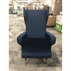 Mid Century Italian Wing Chairs by Marco Zanuso - 1354555