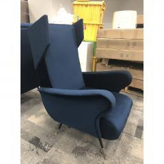 Mid Century Italian Wing Chairs by Marco Zanuso - 1354557