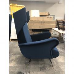 Mid Century Italian Wing Chairs by Marco Zanuso - 1354558