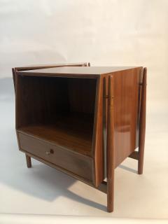 Mid Century Kipp Stewart for Drexel Furniture Declaration Nightstands - 1890059
