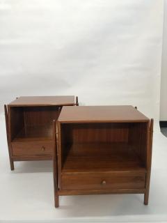 Mid Century Kipp Stewart for Drexel Furniture Declaration Nightstands - 1890060