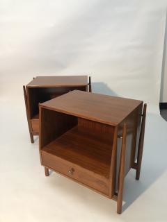 Mid Century Kipp Stewart for Drexel Furniture Declaration Nightstands - 1890061
