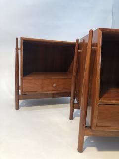 Mid Century Kipp Stewart for Drexel Furniture Declaration Nightstands - 1890062