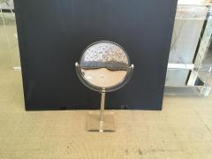 Mid Century Lucite and Chrome Adjustable Table Mirror - 467564