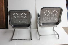 Mid Century Metal Garden Chairs - 687039