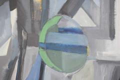 Mid Century Modern Abstract Oil on Canvas - 1445142