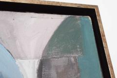 Mid Century Modern Abstract Oil on Canvas - 1445145