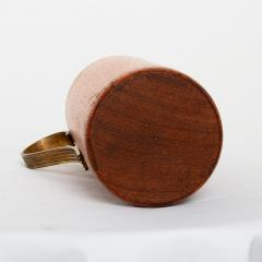 Mid Century Modern Aldo Tura Teak Wood and Brass Italian Pitcher - 1361617