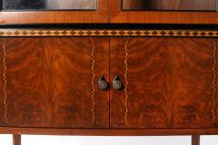 Mid Century Modern Art Deco China Cabinet - 1576024