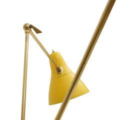 Mid Century Modern Brass Italian Floor Lamp 1950 - 1984549