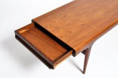 Mid Century Modern Coffee Table with Storage - 936286