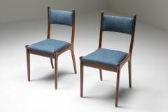 Mid Century Modern Dining Chairs in Weng and Cherry 1960s - 1585580