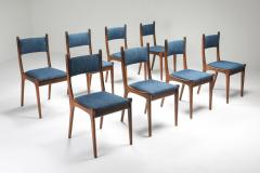 Mid Century Modern Dining Chairs in Weng and Cherry 1960s - 1585581