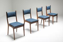 Mid Century Modern Dining Chairs in Weng and Cherry 1960s - 1585586