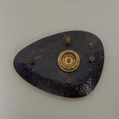 Mid Century Modern HASTE Wall Clock Bronze 1950s - 1239223