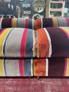 Mid Century Modern Italian Colorful sofa Italy 1980 - 2010121