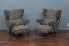 Mid Century Modern Italian Large Lounge Chairs - 1774616