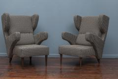 Mid Century Modern Italian Large Lounge Chairs - 1774617
