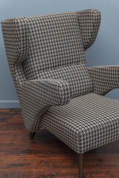 Mid Century Modern Italian Large Lounge Chairs - 1774618