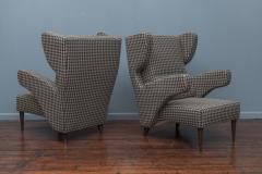 Mid Century Modern Italian Large Lounge Chairs - 1774621