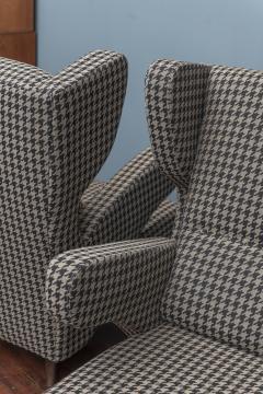 Mid Century Modern Italian Large Lounge Chairs - 1774625
