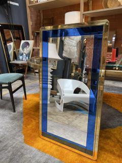 Mid Century Modern Italian Wall Mirror Italy 1970 - 2007789