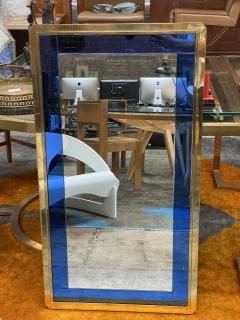 Mid Century Modern Italian Wall Mirror Italy 1970 - 2007791