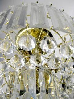 Mid Century Modern Lucite Chandelier - 222403