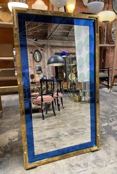 Mid Century Modern Oversize Squre Italian Mirror Italy 1970 - 2002753