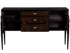 Mid Century Modern Sideboard Cabinet in Zebra Wood - 1800921