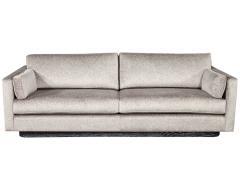 Mid Century Modern Sofa with Ceruse Oak Base - 1835803