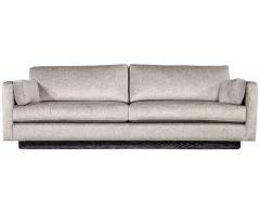 Mid Century Modern Sofa with Ceruse Oak Base - 1835806