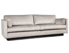 Mid Century Modern Sofa with Ceruse Oak Base - 1835807