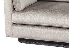 Mid Century Modern Sofa with Ceruse Oak Base - 1835814
