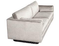 Mid Century Modern Sofa with Ceruse Oak Base - 1835816