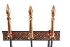 Mid Century Modern Two Tone Fireplace Tool Set - 2108808