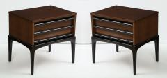 Mid Century Modern Walnut Night Stands - 1241244